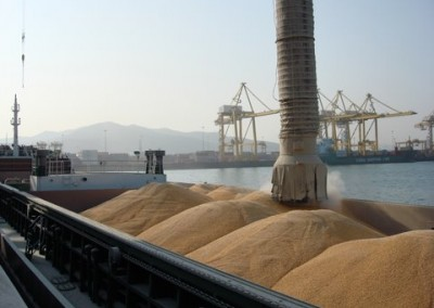 SIDER PUMA loading Organic Maize in Dalian for Avonmouth