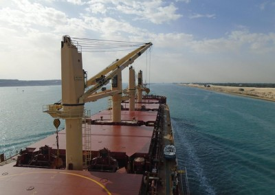 SKELT transiting the Suez Canal