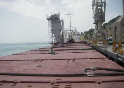 AB LIVERPOOL loading Bulk Cement in Setubal for Bayonne