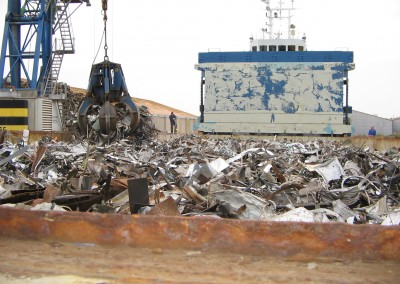 RANFOSS full of Scrap in Rochefort for Algeciras